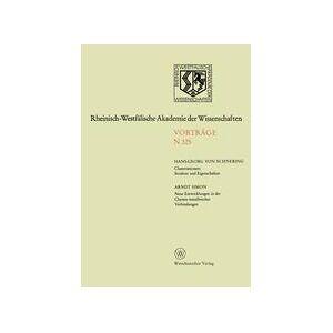 Springer Shop Clusteranionen: Struktur und Eigenschaften. Neue Entwicklungen in der Chemie metallreicher Verbindungen