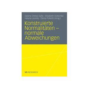 Springer Shop Konstruierte Normalitäten - normale Abweichungen