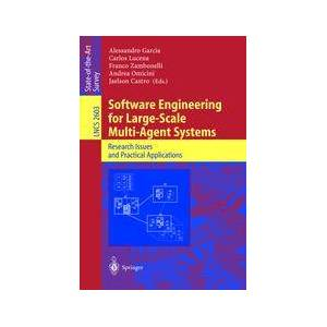 Springer Shop Software Engineering for Large-Scale Multi-Agent Systems