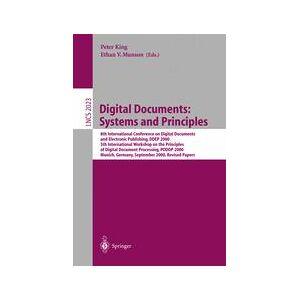 Springer Shop Digital Documents: Systems and Principles