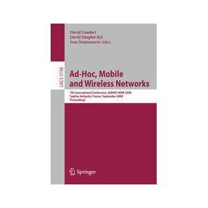Springer Shop Ad-hoc, Mobile and Wireless Networks