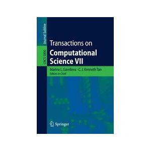 Springer Shop Transactions on Computational Science VII
