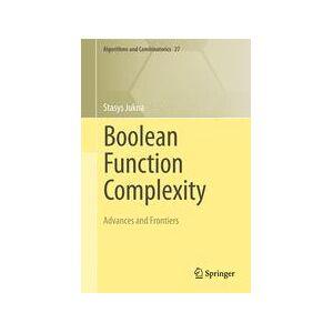 Springer Shop Boolean Function Complexity