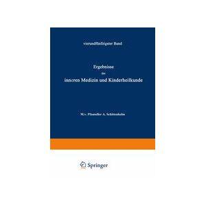 Springer Shop Ergebnisse der Inneren Medizin und Kinderheilkunde