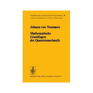 Springer Shop Mathematische Grundlagen der Quantenmechanik