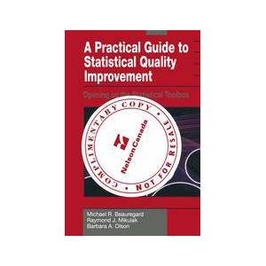 Springer Shop A Practical Guide to Statistical Quality Improvement