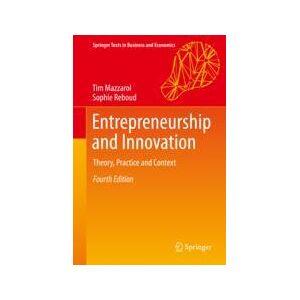 Springer Shop Entrepreneurship and Innovation