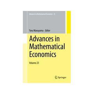 Springer Shop Advances in Mathematical Economics