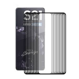 Hat Prince 10Pcs/Set HAT PRINCE [Ultra-thin Unlock Version] 0.2mm 9H 2.5D Full Covering Screen Film Full Glue Protector for Samsung Galaxy S21