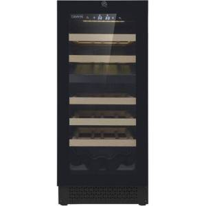 "Cavavin V-024WDZFG 15"" Vinoa Series Dual Zone Wine Cooler with 24 Wine Bottle Capacity  LED Digital Control  Security Lock  Automatic Defrost  42 dBA  and"