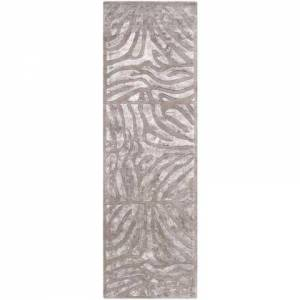 """Surya CAN1934-268 2' 6"""" x 8' Rug  in Light Gray and"""