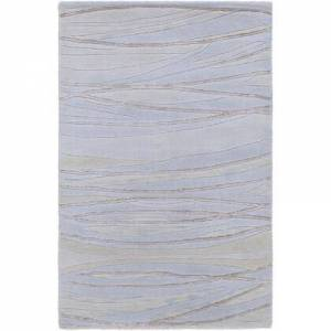 Surya SH7406-23 2' x 3' Rug  in Denim and Taupe and Khaki and Ivory and