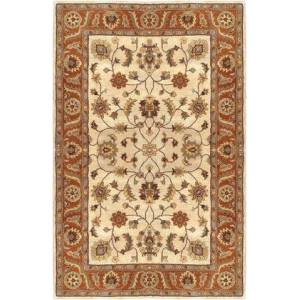 Surya Crowne CRN-6004 5' x 8' Rectangle Traditional Rug in