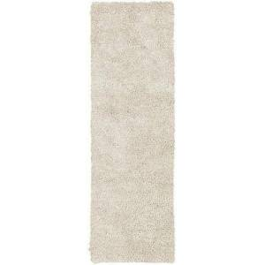 Surya Aros Collection AROS2-410 Runner 4' x 10' Rug  Hand Woven with Wool Material in Cream
