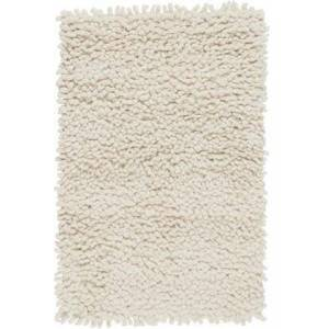 Surya Aros Collection AROS2-23 Rectangle 2' x 3' Area Rug  Hand Woven with Wool Material in Cream