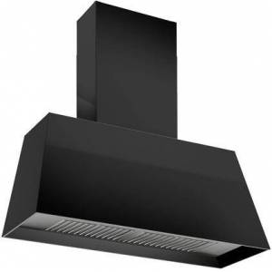 """Bertazzoni KMC30NE 30"""" Contemporary Canopy Hood with 600 CFM  Stainless Steel Baffle Filter and LED Light Bar in Matte"""