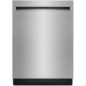 "Jenn-Air JDTSS247HS 24"" Lustre Built In Dishwasher with 14 Place Settings  TriFecta Wash System  7 Wash Cycles  3 Racks  Precision Dry Plus Option  Energy"
