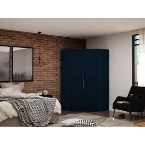 Manhattan Comfort Mulberry Collection 115GMC4 Wardrobe/ Armoire/ Closet with 2 Doors  Contemporary Modern Style  Medium-Density Fiberboard (MDF) Frame and