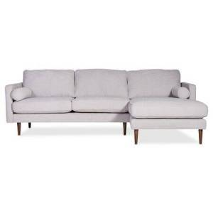 Moe's Home Collection Unwind Collection SCL-XB-001-035 Sectional Left in Fog