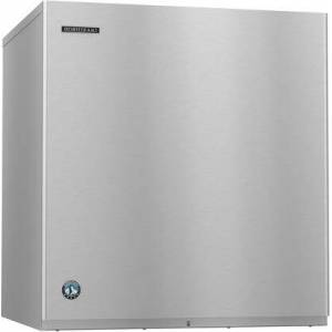 """Hoshizaki KM-901MRJ 30"""" Energy Star Ice Modular with 950 lbs. Daily Ice Production  Remote Cooled  H-Guard Plus  Phase 1  and CycleSaver Design  in Stainless"""