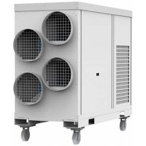 """Airrex AHSC-140-220-3 34"""" Portable Heat Pump with 145000 BTU Cooling Capacity  100000 BTU Heating Capacity  Washable Filters and Eco-Friendly Refrigerant in"""