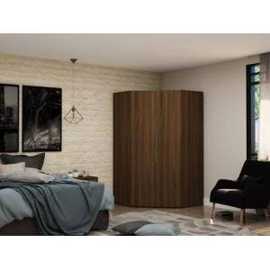 Manhattan Comfort Mulberry Collection 115GMC5 Wardrobe/ Armoire/ Closet with 2 Doors  Contemporary Modern Style  Medium-Density Fiberboard (MDF) Frame and