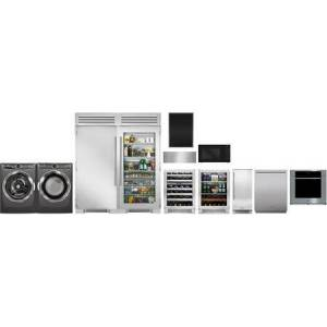 Appliances Connection Picks 12 Piece Professional Kitchen Appliances Package with Washer and Dryer in Stainless