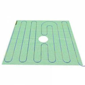 """WarmlyYours TRT120-4.0x4.0 48"""" x 48"""" Tempzone Shower Mat with 120V  16 Sq. Ft. Coverage  2.0 Amps and 819 BTU Per"""