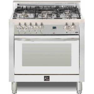 """Lofra CWSS36M0-G500 Curva 36"""" Dual Fuel Freestanding Range with Traditional Baking  Dehydration  Defrosting  True European Convection  Rapid Cooking"""