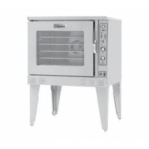 """Garland MP-GD-10-D 38"""" Single Moisture+ Deep Depth Convection Oven with 80000 BTU Power  Deluxe Microprocessor Controller  Two Speed Fan with 3/4 HP Motor"""