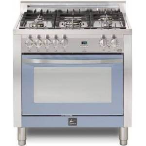 """Lofra CLSS36M0-G500 Curva 36"""" Dual Fuel Freestanding Range with Traditional Baking  Dehydration  Defrosting  True European Convection  Rapid Cooking"""