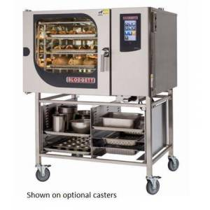 Blodgett BLCT62G Single Gas Boilerless Combination-Oven Steamer with Touchscreen Control  Multiple modes  Self cleaning system. Capacity: 5 sheet pans or 10