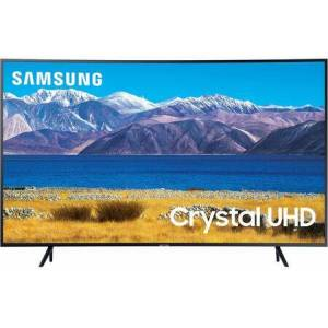 """Samsung UN55TU8300FXZA 55"""" 4K Crystal UHD HDR Smart TV with Crystal Processor 4K  HDR and Curved"""