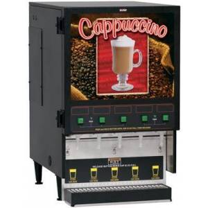 Bunn-O-Matic 34900.0000 FMD-5 Fresh Mix Dispenser With 5 Hoppers  6.4 Gal (24.2L) Hot Water Tank  4lbs Per Hopper  Lighted Front Graphics  in