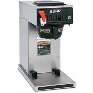 Bunn-O-Matic 23001.0069 CWTF-DV-TC Dual Voltage Thermal Carafe Automatic Coffee Brewer with Hot Water Faucet  Pourover  SplashGard  in Stainless