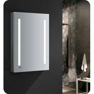 """Fresca FMC012436-L Tiempo 24"""" Wide x 36"""" Tall Bathroom Medicine Cabinet with LED Lighting and Defogger  in"""