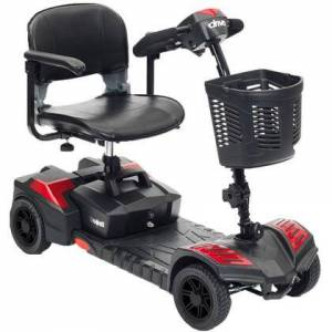 Drive Medical sfscout4 Spitfire Scout Compact Travel Power Scooter  4