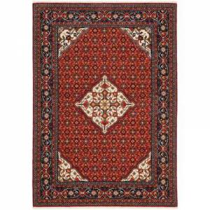 Oriental Weavers L001C6078370ST Lilihan Power Loomed Wool/Nylon Traditional/Traditional Rug 2.6 x 12. feet in Red/Blue