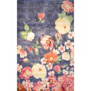 The Rug Market 44514H 10 x 13 ft. Xanthe Area Rug  in Charcoal and