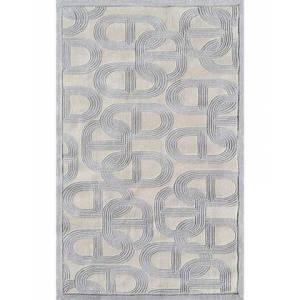 The Rug Market 44486F 8 x 11 ft. Claudia Area Rug  in Gray and