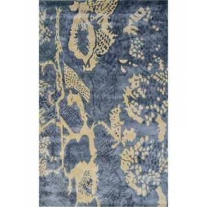 The Rug Market 44492D 5 x 8 ft. Uma Area Rug  in Gray and