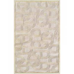The Rug Market 44484D 5 x 8 ft. Claudia Area Rug  in Cream and