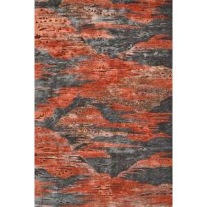 The Rug Market 44552F 8 x 11 ft. Rockies Area Rug  in Red and