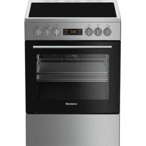 "Blomberg BERU24102SS 24"" Electric Range with 4 Elements  2.51 cu. ft. Oven Capacity  Convection  Storage Drawer  Easy Clean Enamel Finish  Residual Heat"