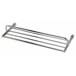 Alfi AB9523 Polished Chrome 24 inch Towel Bar & Shelf Bathroom