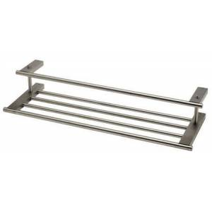 Alfi AB9564-BN Brushed Nickel 26 inch Towel Bar & Shelf Bathroom