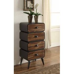 4D Concepts 162016 Industrial Collection Urban Loft 4 Rounded Drawer
