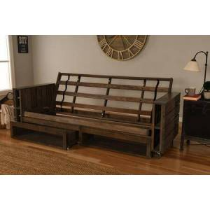 Kodiak Furniture Claire Collection KFTTCLRW4 Twin over Twin Bunk Bed in Rustic