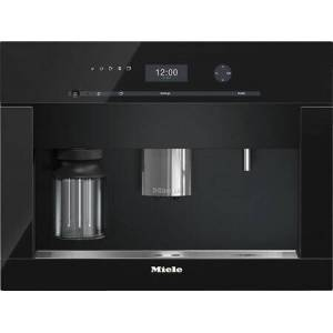"""Miele CVA6401-OBSW 24"""" Built-In Non Plumbed Coffee System with DirectSensor Controls  OneTouch for Two  EasyClick Milk System  Automatic Rinsing  LED"""