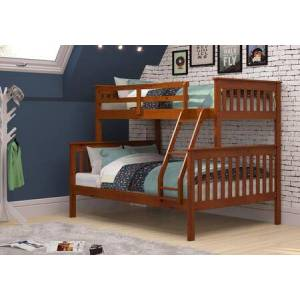 Donco 122-3-TFE Twin/Full Mission Bunkbed